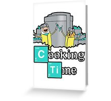 It's Cooking Time ... Greeting Card