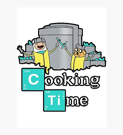 It's Cooking Time ... Photographic Print