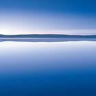 sunset blue by Micheline Kanzy