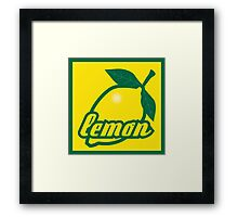 lemon II Framed Print