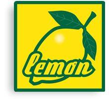 lemon II Canvas Print