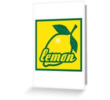 lemon II Greeting Card
