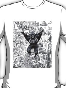 From Above Comic T-Shirt