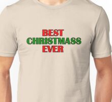Best Christmas Santa Claus Gift Presents Happy New Year Holidays Unisex T-Shirt