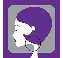 purple Photographic Print