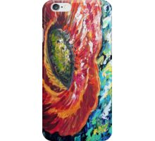 A Poppy Takes Center Stage iPhone Case/Skin