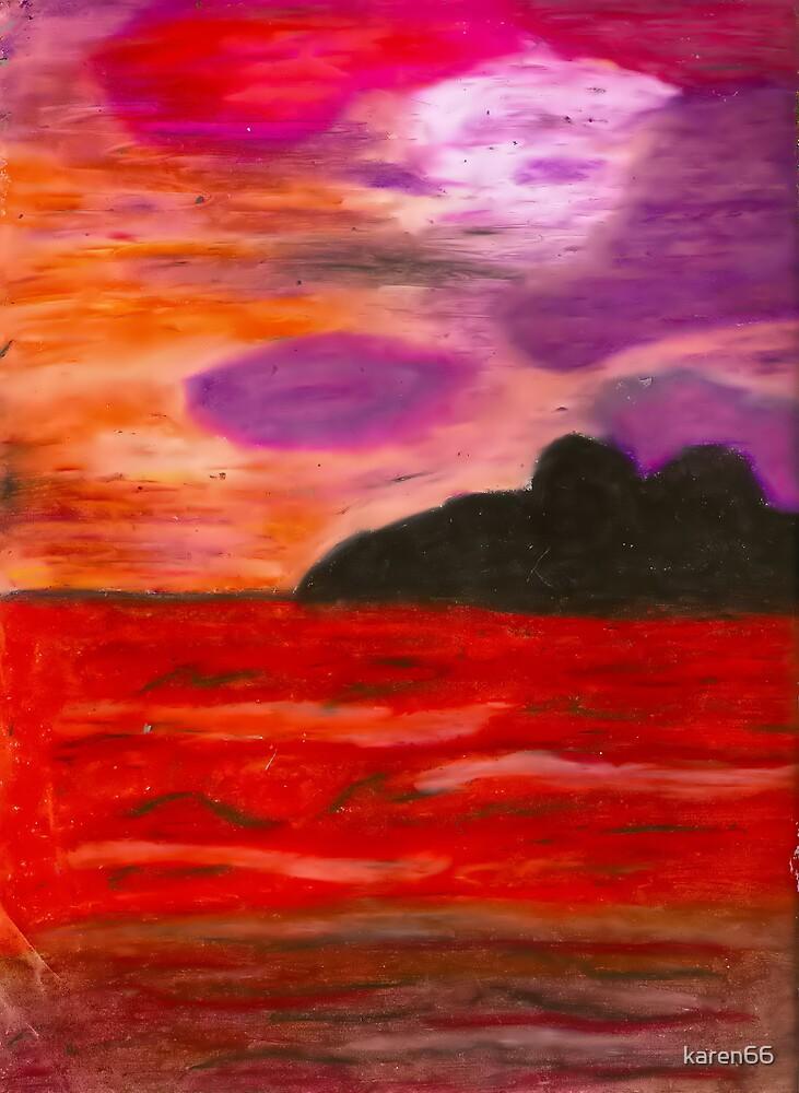 Purple Sunset by karen66