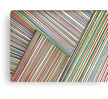 Woven Lines Canvas Print
