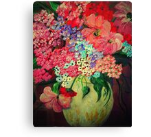 Fanciful Flowers Canvas Print