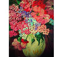 Fanciful Flowers Photographic Print