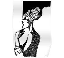Afrika Woman Poster