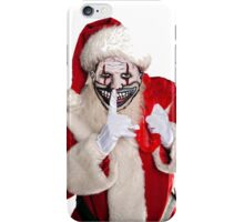 Twisty Claus iPhone Case/Skin