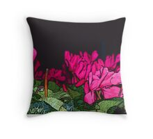 Union Square Roses Throw Pillow