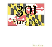 301 MARYLAND  Photographic Print