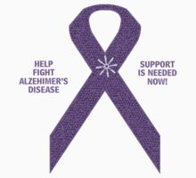 Alzheimer's Support Ribbon by kabsannie