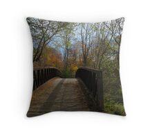 Oshawa's Nature Trails Throw Pillow