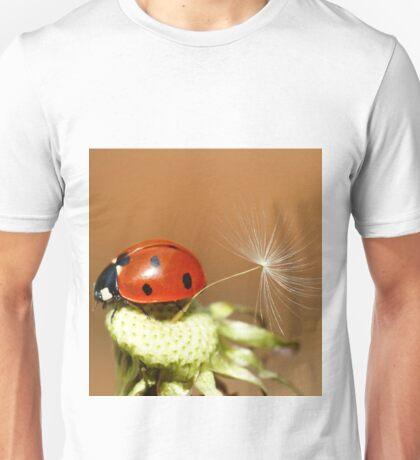 Ladybird and Dandelion Seed Unisex T-Shirt