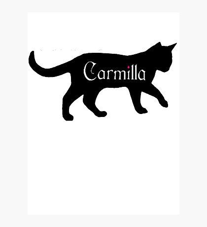 Carmilla the Cat Photographic Print
