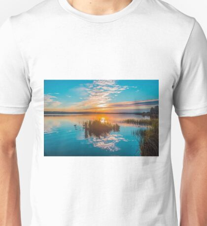 Sunset on the River Unisex T-Shirt