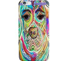 LADY BOXER iPhone Case/Skin