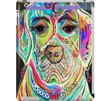 LADY BOXER iPad Case/Skin