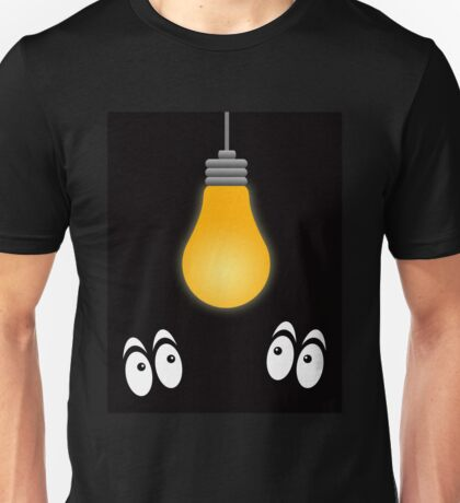 see the light lamp Unisex T-Shirt