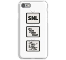 Jimmy Fallon TV History iPhone Case/Skin
