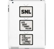Jimmy Fallon TV History iPad Case/Skin