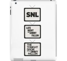 Jimmy Fallon TV History iPad Case/Skin