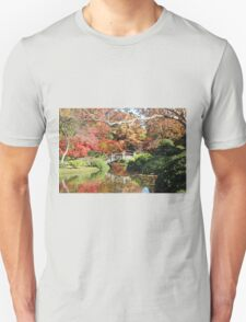 Fall in the Japanese Gardens Unisex T-Shirt