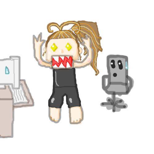 Computer Frustration by BrokenBleedingAngel