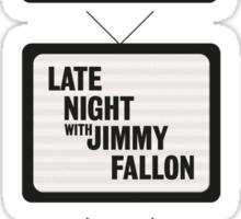 Jimmy Fallon TV History Sticker