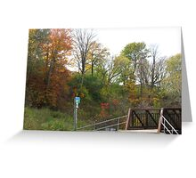 Oshawa Trails Greeting Card