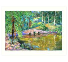 Stone Bridge #2 Tamborine Art Print