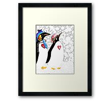 Cold Feet Warm Heart Framed Print