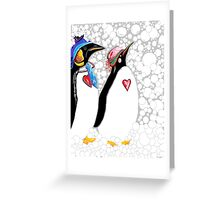 Cold Feet Warm Heart Greeting Card