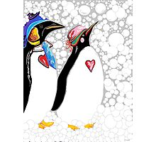 Cold Feet Warm Heart Photographic Print