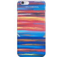 Sunset in Patmos iPhone Case/Skin