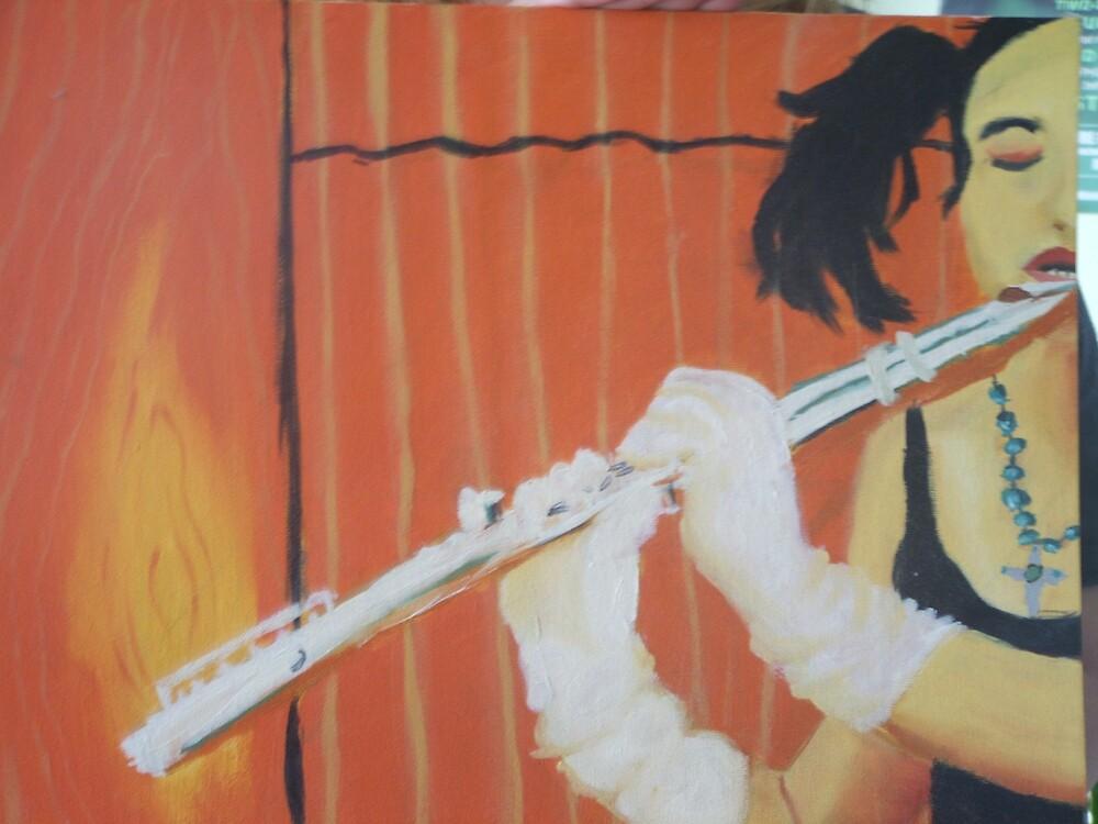 Flute Player by Saavvvyyyy