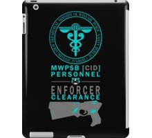 MWPSB CID (Psycho-Pass - Enforcer Clearance) iPad Case/Skin