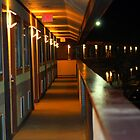 Lighted Corridor by WeeZie
