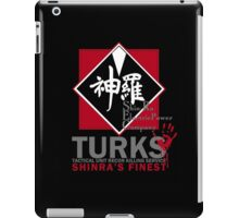 Turks (Final Fantasy VII - ShinRa's Finest) [Dark Version] iPad Case/Skin