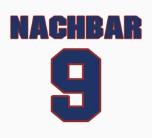 Basketball player Bostjan Nachbar jersey 9 by imsport
