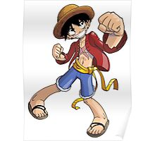 One Piece - Monkey D. Luffy Poster