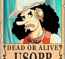 One Piece - Wanted Poster - Usopp by 57MEDIA