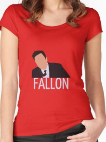 Jimmy Fallon Women's Fitted Scoop T-Shirt