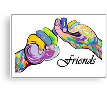 The Sign Language of FRIENDS Canvas Print