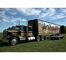 "1974 Kenworth W900A ""Smokey and the Bandit"" Semi Truck Replica Photographic Print"