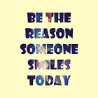 Be The Reason by M. Sha
