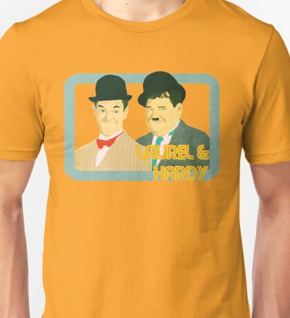 Laurel & Hardy Unisex T-Shirt